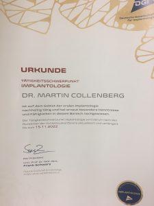 Zertifizierung Ritter&Collenberg